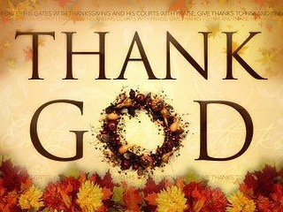 So many blessings from God to be Thankful for today! What are you most thankful for?