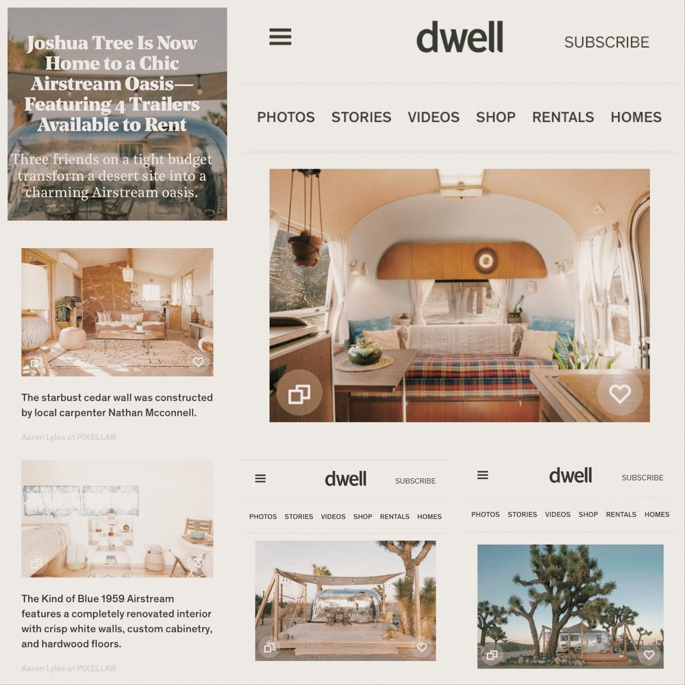 Joshua tree acres in DWELL! - We've drawn so much inspiration for our projects from Dwell Magazine, it's such an honor to be featured!Check out the entire article HERE