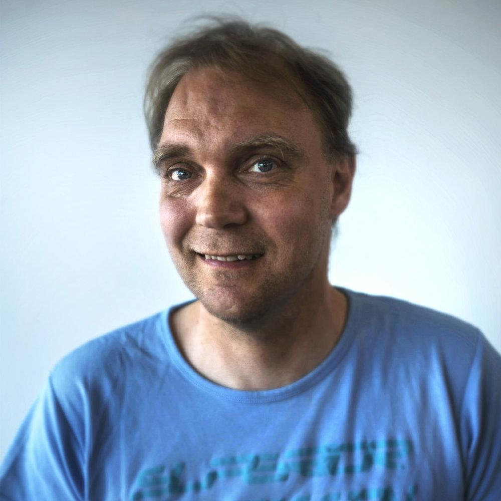 ÆUG, portræt, Lars - Visuel Kommunikation v/ Jonathan Fjord