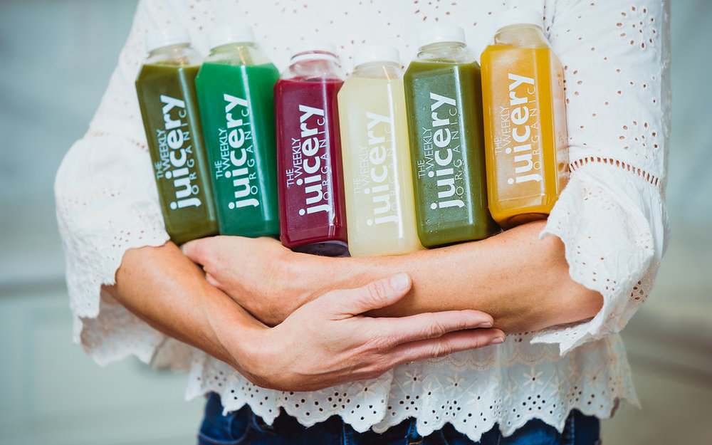 The Weekly Juicery - The Weekly Juicery, they are a USDA Certified Organic juice company headquartered in Lexington, Kentucky. Their juices are organic, raw, nutrient-dense, and free of any additives or refinements.