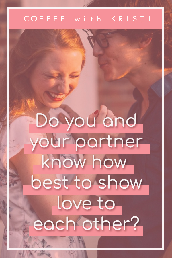 Do you and your partner know how best to show love to each other? In this blog post and podcast at Coffee with Kristi, I am discussing relationships. I'll talk a little bit about mine, how we deal with troubles that arise and what has helped us before. Read more at: https://www.coffeewithkristi.com/blog/lovewell