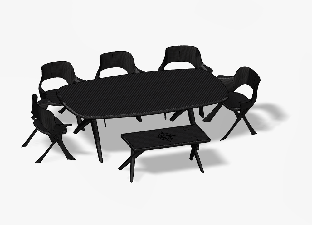 Clear Carbon Interiors_Folding Chair & Table & Bench.PNG