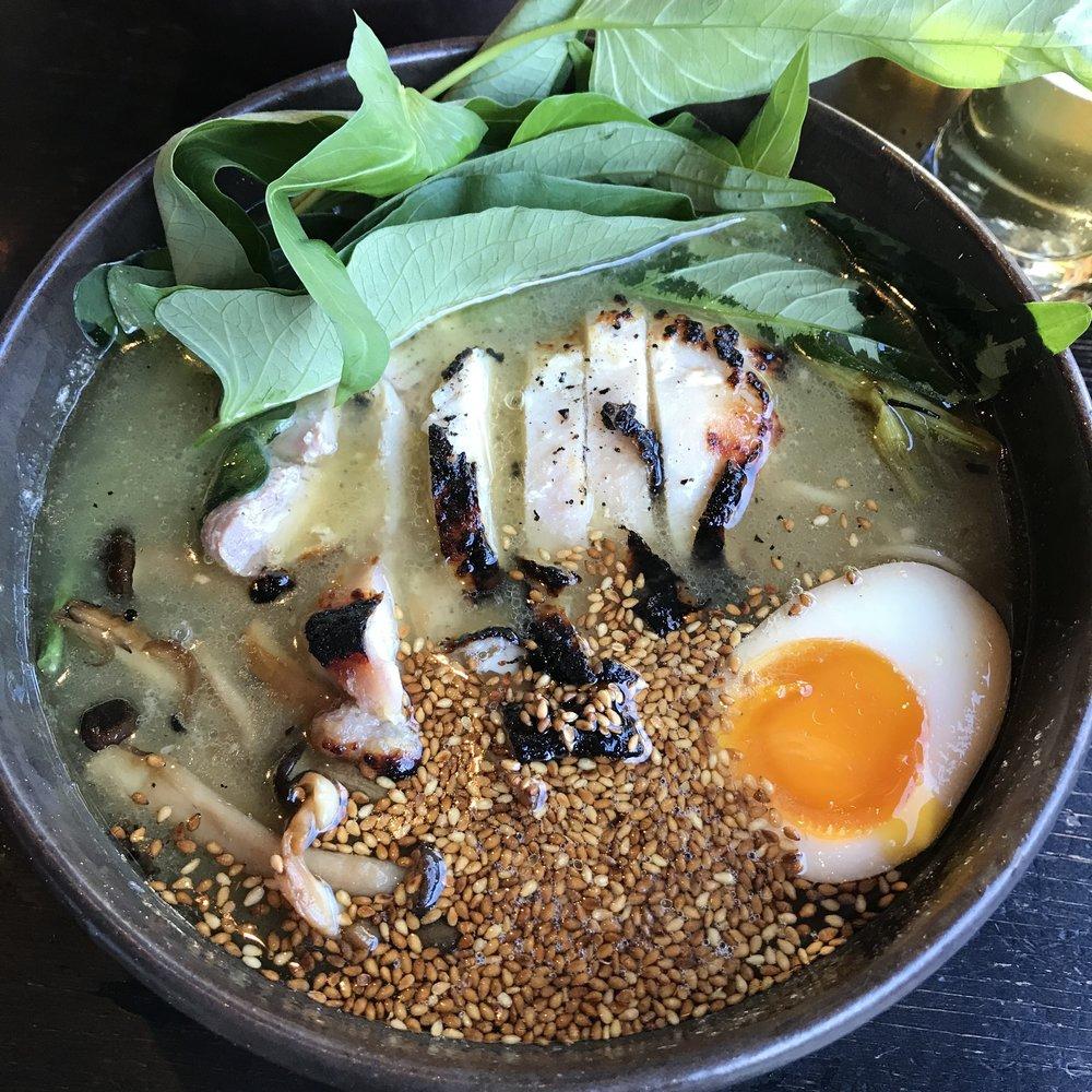 Jidori Chicken and Yuzu Ramen
