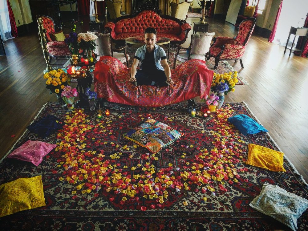 On the set of Draupadi Unleashed