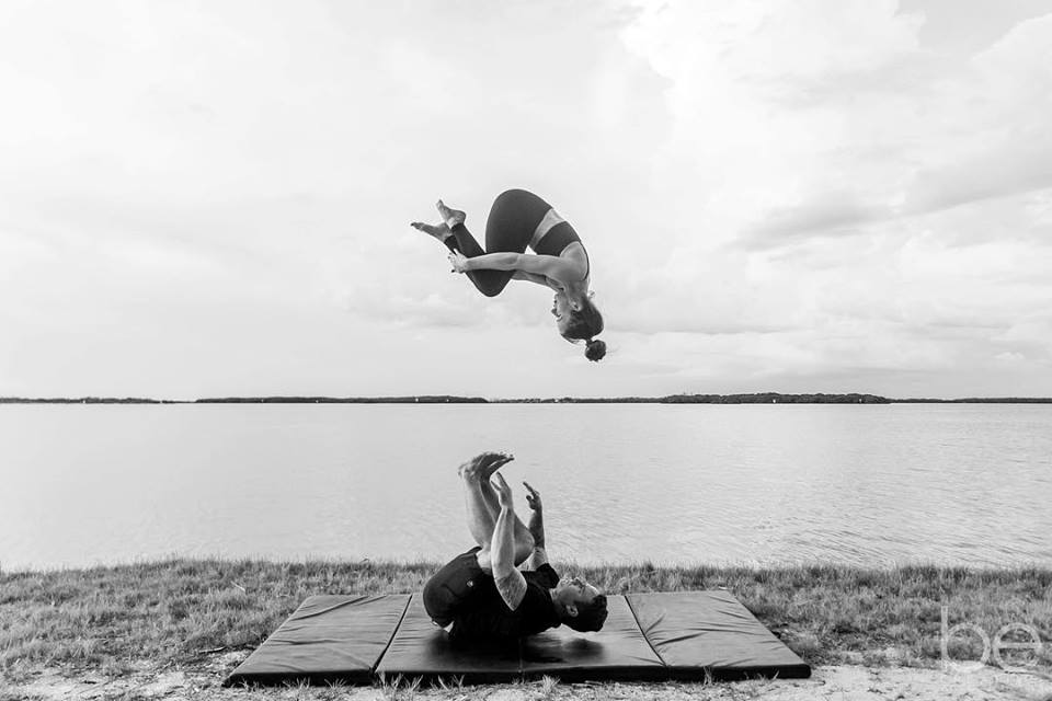 Acro Yogis Erin Yonke + Joshua Michael Mauro