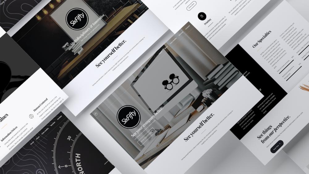 SixFifty | Company Website - WordPress Theme CustomizationCopywriting