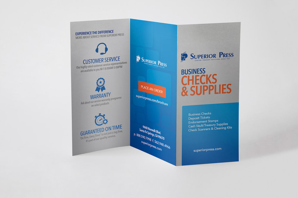 Refreshing traditional sales material with new branding design
