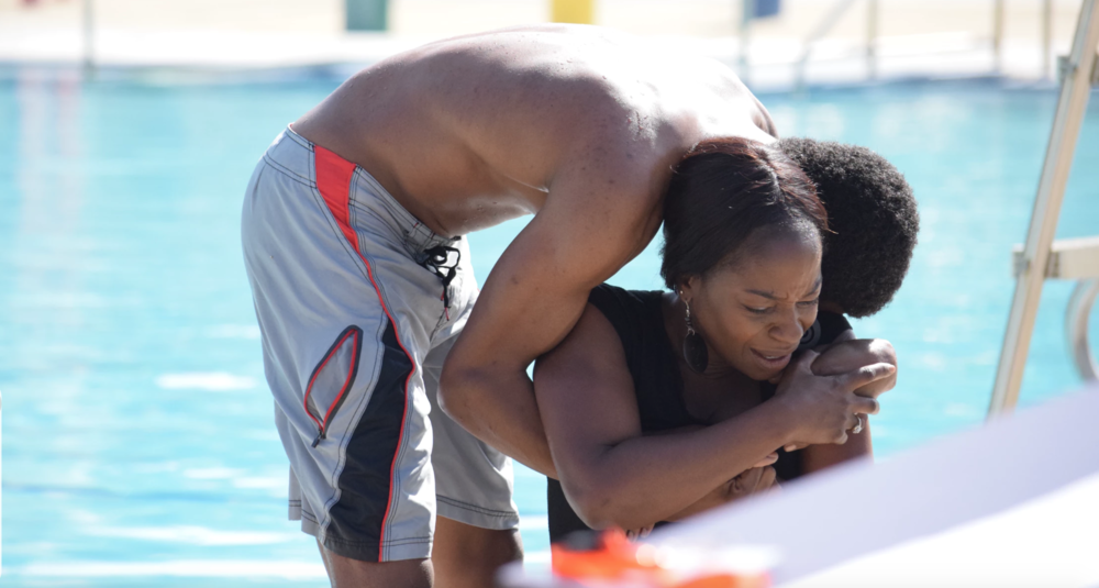 SECONDS OUT OF SIGHT: PHOTO ESSAY  Water Safety Demonstration for Drowning Prevention
