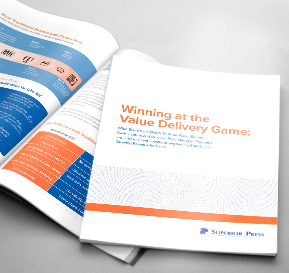 White Paper Design, Infographics & Layout