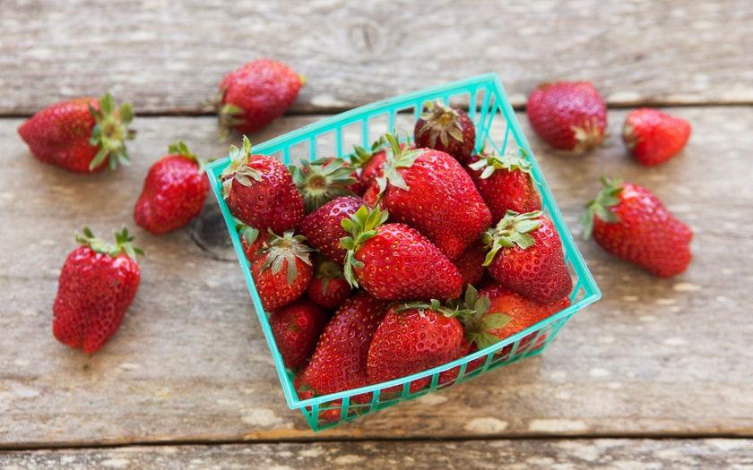 Swanton Berry Farm  Organic Chandler Strawberries  $4.49