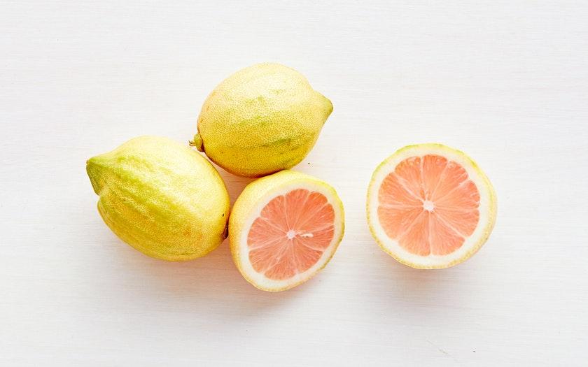 Good Eggs Produce  Organic Pink Variegated Lemons  $3.99