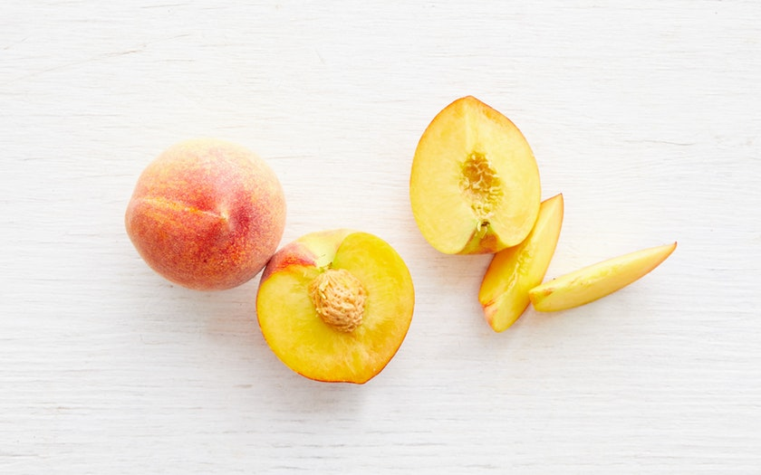 Masumoto Family Farm  Organic Sun Crest Yellow Peach Duo  $4.99