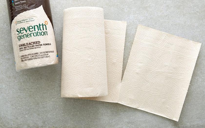 Seventh Generation   Unbleached Paper Towels   $2.99