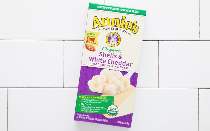 Annie's Homegrown   Organic Shells & White Cheddar Pasta   $2.99