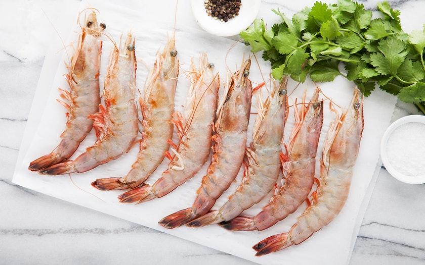 One Ocean Seafood   Frozen Wild Giant Gulf Shrimp     $23.99