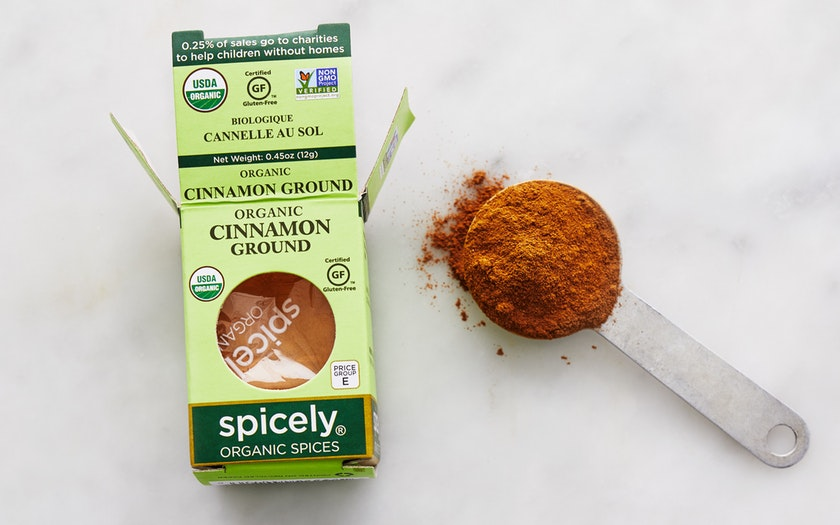 Spicely Organics   Organic Ground Cinnamon     $2.99