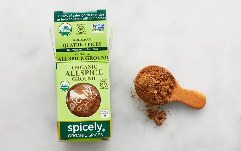 Spicely Organics   Organic Ground Allspice     $2.99