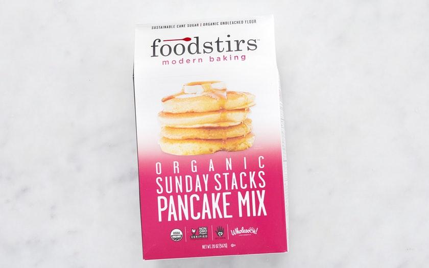 Foodstirs    Organic Pancake Mix    $5.49