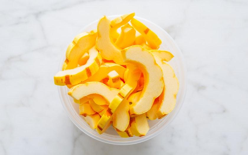 Good Eggs Kitchen   Cut Delicata Squash     $4.99