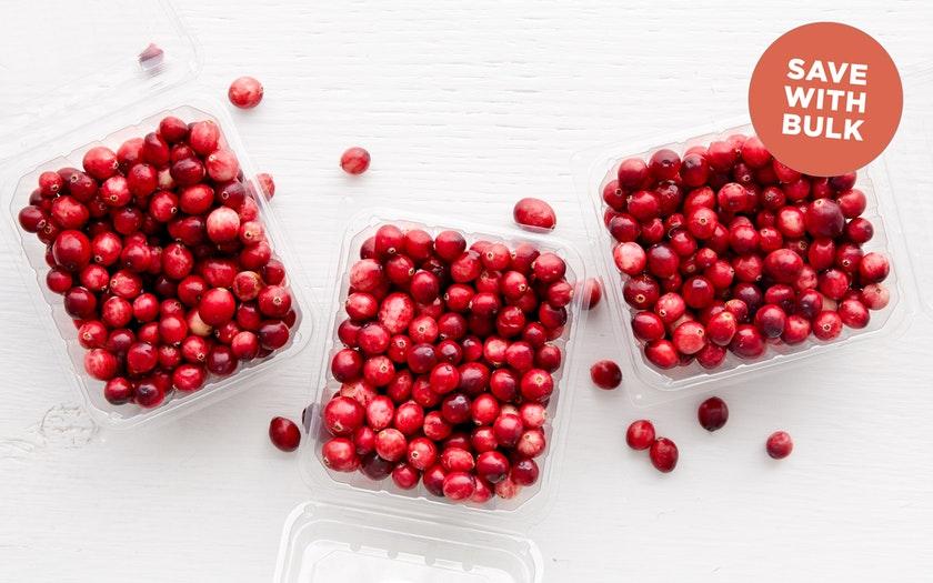 Patience Fruit Co.   Organic Fresh Cranberries   $13.99