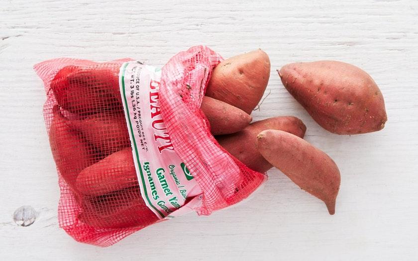 A.V. Thomas Produce   Organic Garnet Sweet Potatoes   $5.99