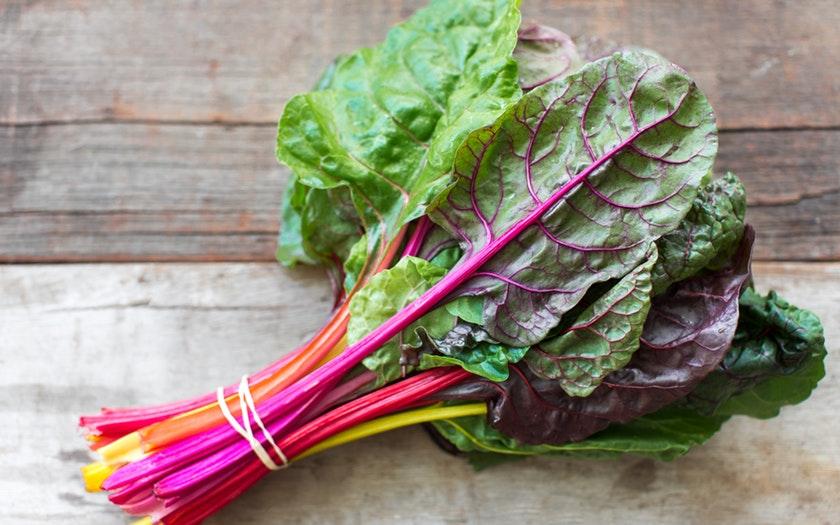 Blue House Organic Farm   Organic Rainbow Chard   $2.49