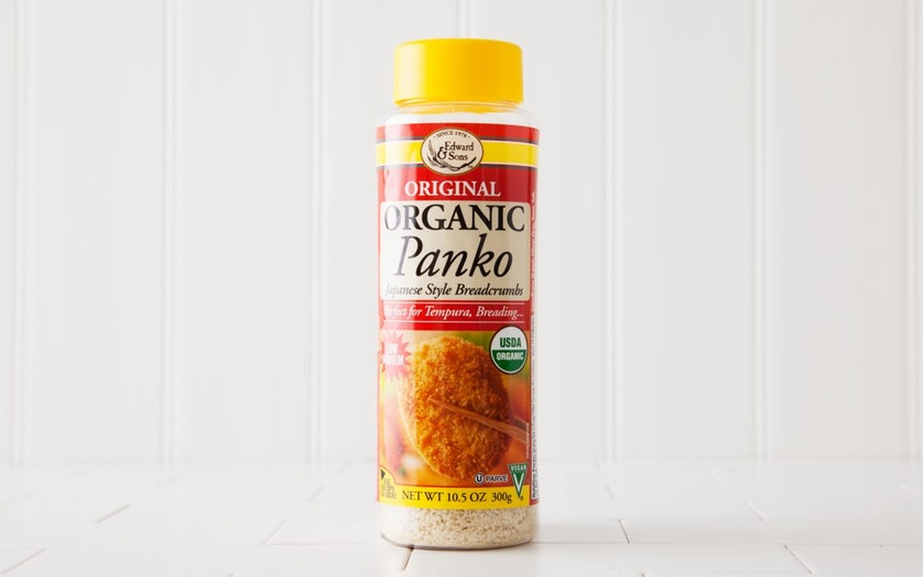 Edward & Sons   Organic Panko Bread Crumbs     $5.79