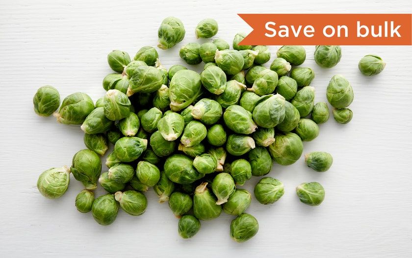 Blue House Organic Farm   Organic Brussels Sprouts     $15.99 - 3 lb
