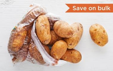Good Eggs Produce   Organic Russet Potatoes     $4.99 - 5 lb