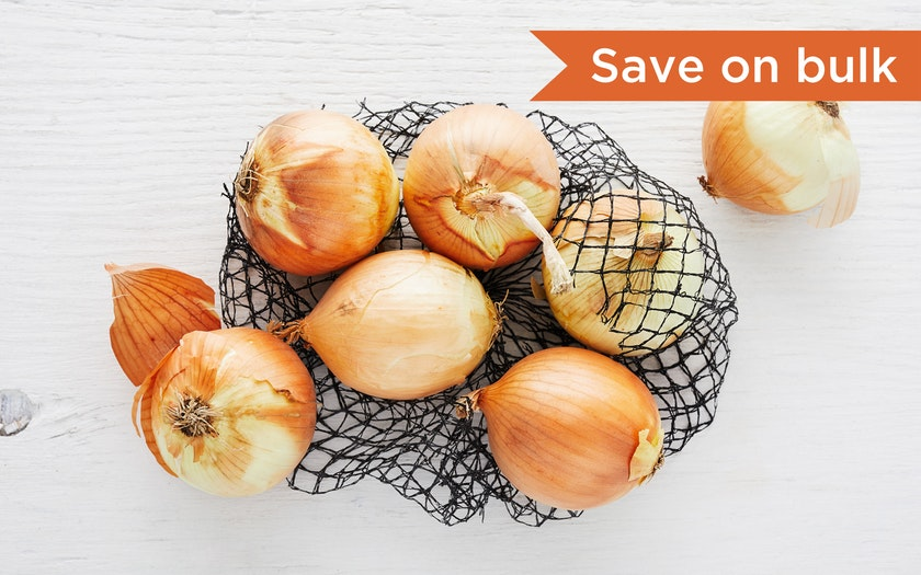 Good Eggs Produce   Bulk Organic Yellow Onion     $2.99 - 3lb