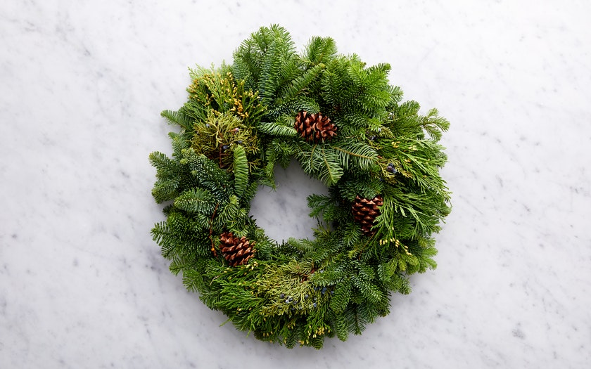 Repetto Nursery   Small Evergreen Wreath     $24.99