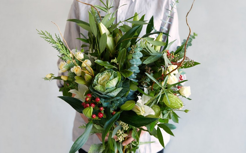 Good Eggs Flower Shop   Holiday Bouquet     $49.99