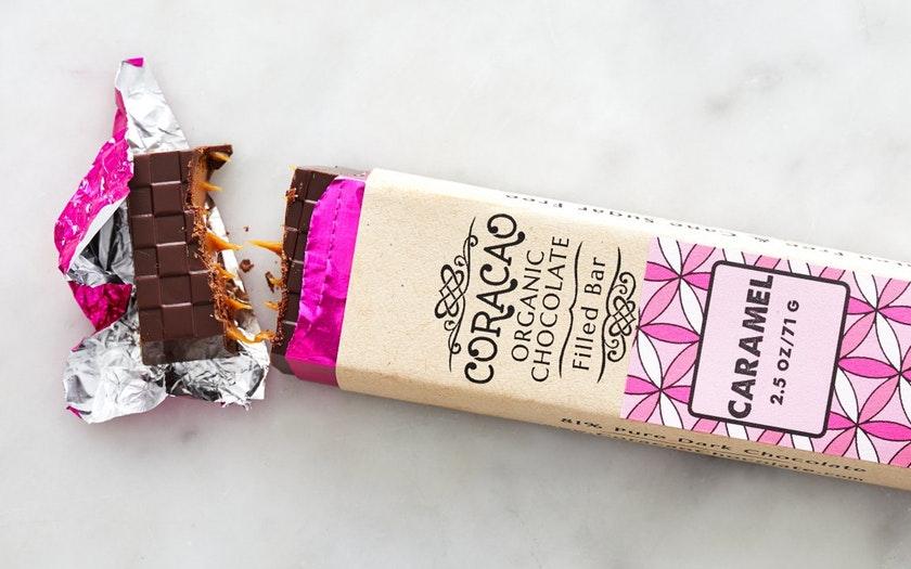Coracao Confections   Organic Caramel Truffle Bar (Vegan)     $9.99