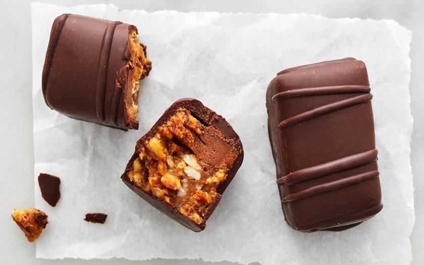 Coracao Confections   Organic Caramel & Nougat 'Berkeley' Bars (Vegan)     $5.79
