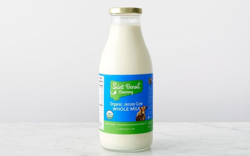 St. Benoit Creamery   Organic Whole Jersey Milk     $4.69