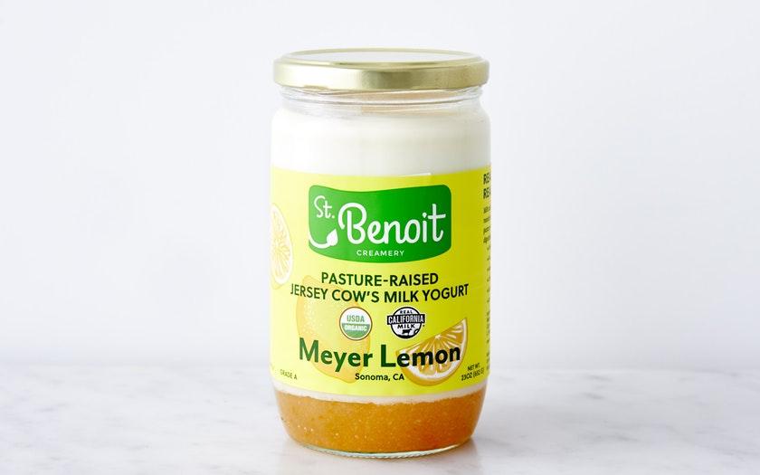 St. Benoit Creamery   Organic French-Style Meyer Lemon Yogurt     $6.99