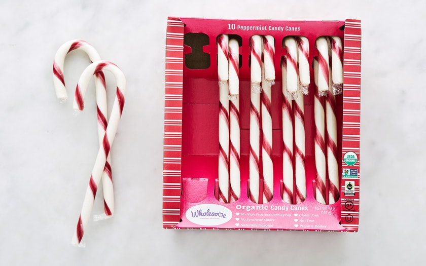 Wholesome Sweeteners   Organic Peppermint Candy Canes     $3.99