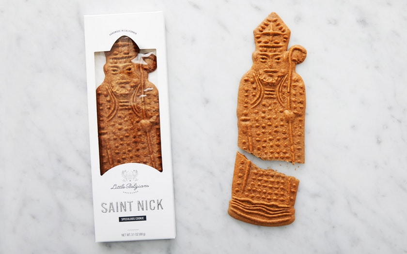 Little Belgians   Large Saint Nick Speculoos Cookie     $9.99