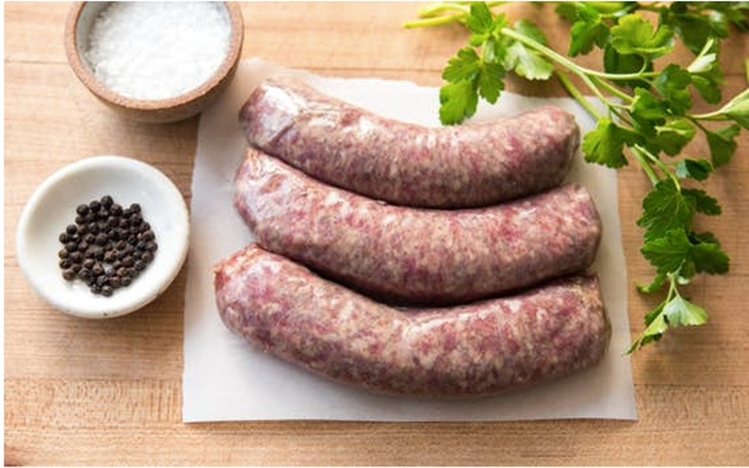 Sonoma County Meat Co.   Pork Bratwurst (Frozen)     $9.59