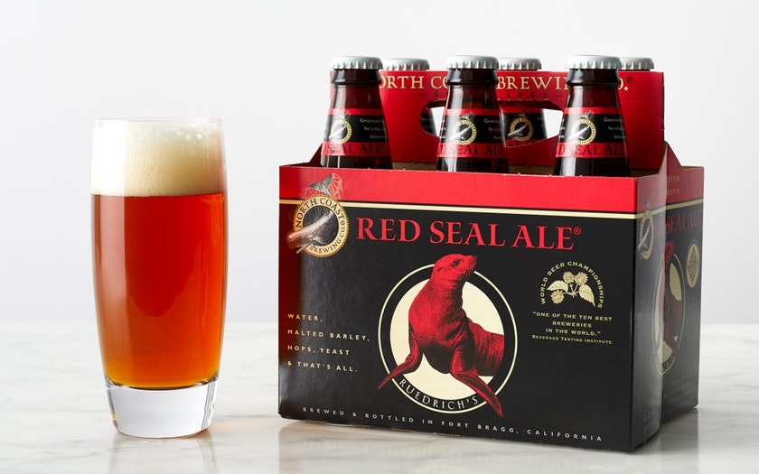 North Coast Brewing Co.   Red Seal Amber Ale     $8.99