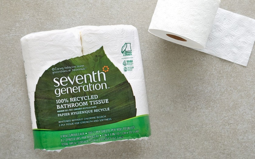 Seventh Generation   Chlorine-Free Toilet Paper     $4.99
