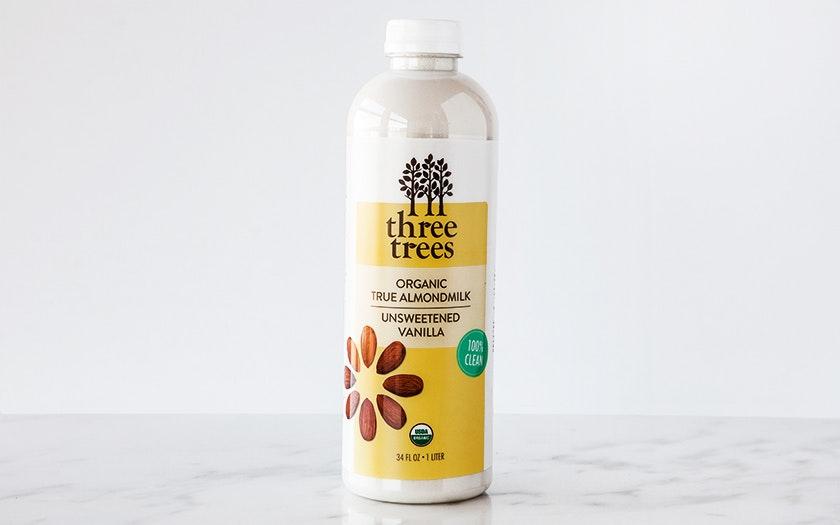 Three Trees   Organic Unsweetened Vanilla Almond Milk     $7.99