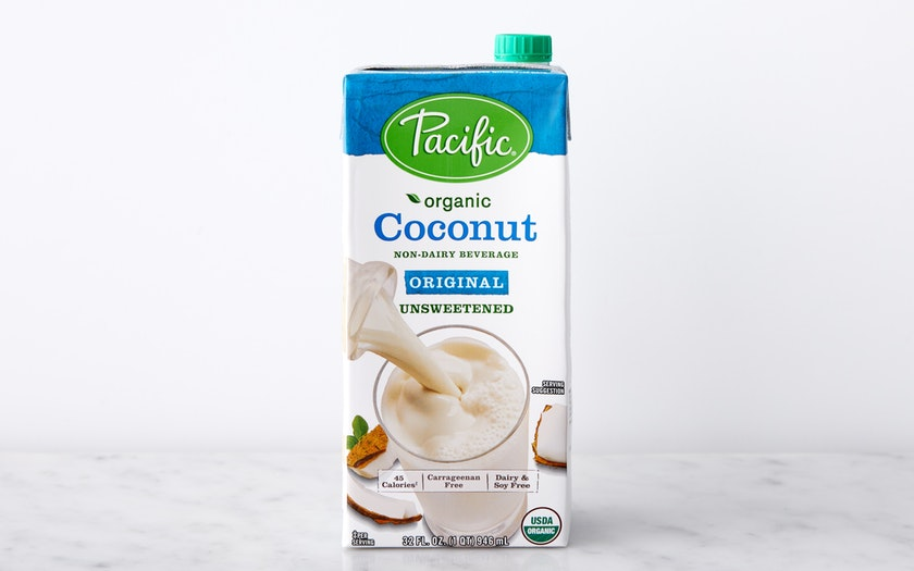 Pacific Foods   Organic Unsweetened Coconut Milk     $3.29