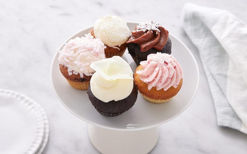 Black Jet Baking Co.   Assorted Mini Valentine's Day Cupcakes     $9.99