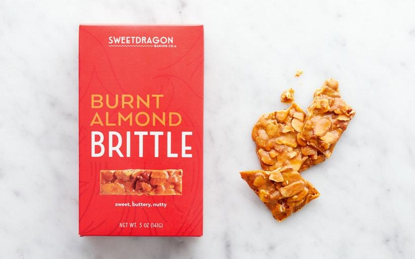 Sweetdragon Baking Company   Burnt Almond Brittle     $9.99