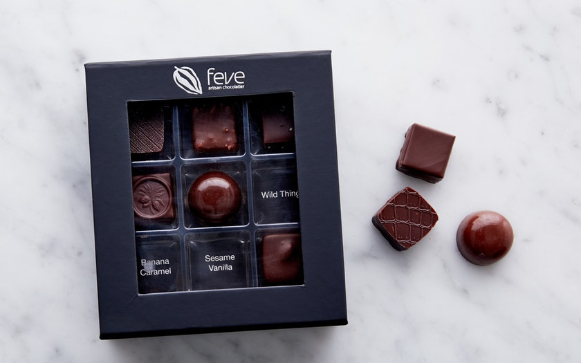 Feve Artisan Chocolatier   Natural Truffle Collection     $19.99