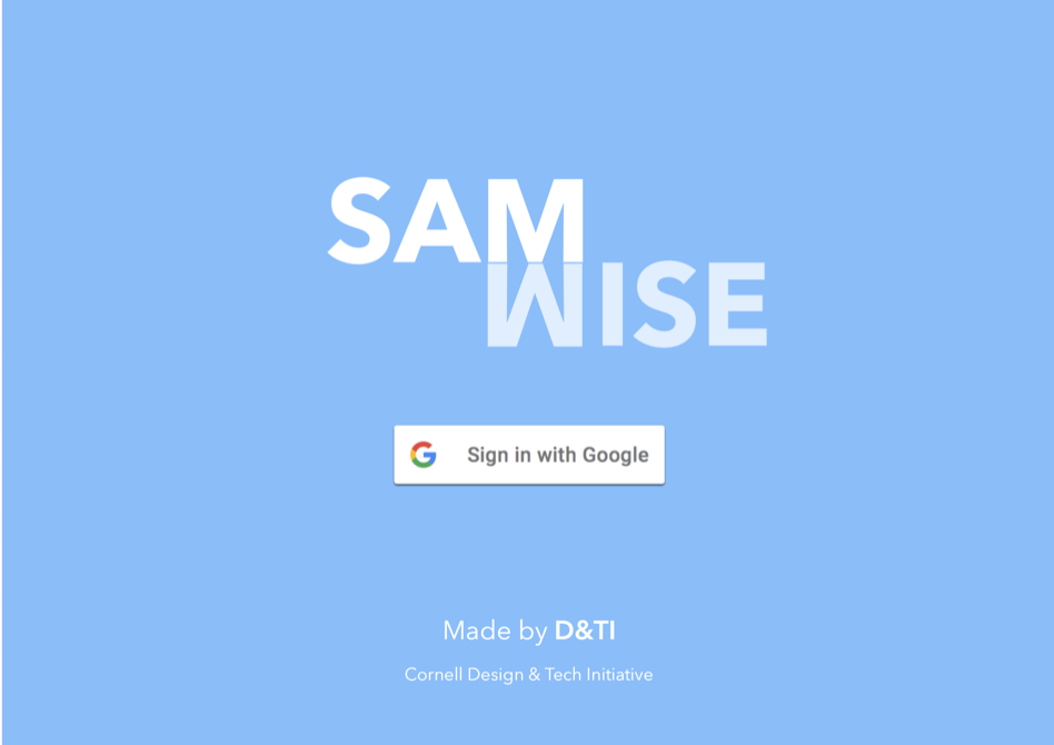 Project Samwise Vivian Shiu