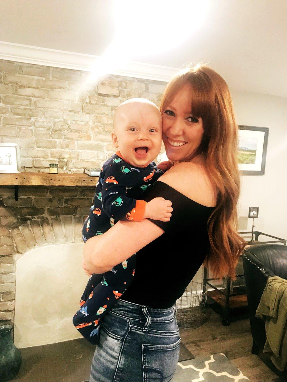 Pushing my way past Postpartum Anxiety