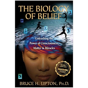 The Biology of Belief by Bruce Lipton, Ph.D.    The Biology of Belief is a groundbreaking work in the field of new biology. Former medical school professor and research scientist Bruce H. Lipton, Ph.D., presents his experiments, and those of other leading-edge scientists, which examine in great detail the mechanisms by which cells receive and process information. The implications of this research radically change our understanding of life, showing that genes and DNA do not control our biology; instead, DNA is controlled by signals from outside the cell, including the energetic messages emanating from our positive and negative thoughts. This profoundly hopeful synthesis of the latest and best research in cell biology and quantum physics has been hailed as a major breakthrough, showing that our bodies can be changed as we retrain our thinking.