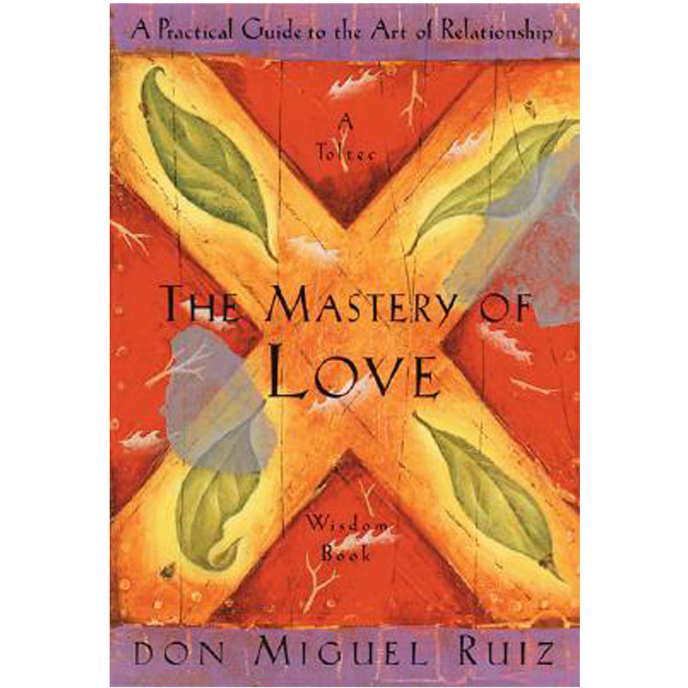 The Mastery of Love by Don Miguel Ruiz   In The Mastery of Love, don Miguel Ruiz illuminates the fear-based beliefs and assumptions that undermine love and lead to suffering and drama in our relationships. Using insightful stories to bring his message to life, Ruiz shows us how to heal our emotional wounds, recover the freedom and joy that are our birthright, and restore the spirit of playfulness that is vital to loving relationships.